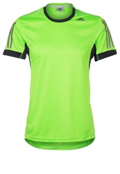 Adidas Performance Sports Shirt Neon Green Phantom S09