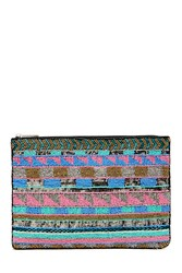 Forever 21 Beaded Sequin Clutch