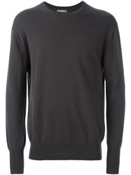 N.Peal 'The Oxford' Pullover Grey