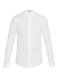 Balenciaga Long Sleeved Cotton Blend Shirt