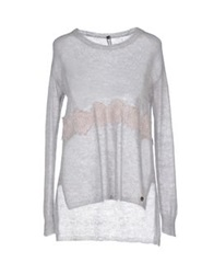 Fly Girl Sweaters Light Grey
