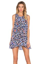 Chloe Oliver The Sun Ellipse Dress Blue