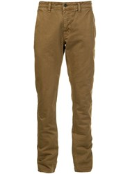 Current Elliott Chino Trousers Brown