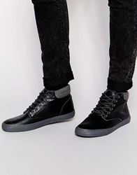 New Look Faux Leather Chukka Boots Black