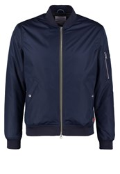 Knowledge Cotton Apparel Winter Jacket Total Eclipse Dark Blue