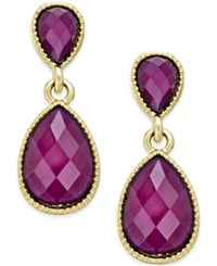 Styleandco. Style And Co. Amy Tiny Teardrop Earrings Only At Macy's