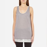 Boss Orange Women's Terparty Top Medium Grey