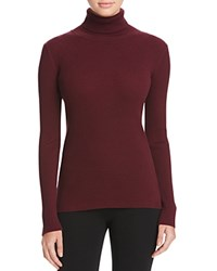 Vince Camuto Ribbed Turtleneck Sweater 100 Bloomingdale's Exclusive Raisin