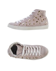 Maison Espin High Tops And Trainers Light Pink