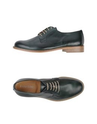 John Bakery Lace Up Shoes Green