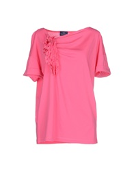 Henry Cotton's T Shirts Pink