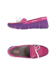 Swims Moccasins Purple