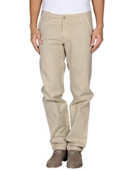 Boss Orange Casual Pants Beige