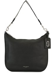 Marc Jacobs 'Gotham City' Hobo Shoulder Bag Black
