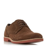 Linea Broomsticks Eva Sole Gibson Shoes Dark Brown