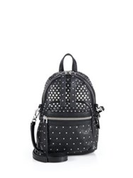 Marc By Marc Jacobs Biker Studded Leather Crossbody Backpack