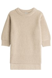 Malo Ribbed Cashmere Tunic Gr. It 40