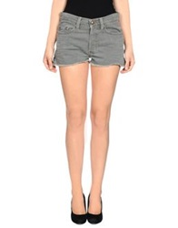 Htc Denim Shorts Grey