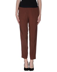 .Tessa Trousers Casual Trousers Women Cocoa