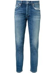 Citizens Of Humanity Cropped Skinny Jeans Blue