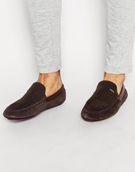Ted Baker Maddoxx Slippers Brown