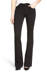 Women's James Jeans High Rise Flare Jeans Black Swan