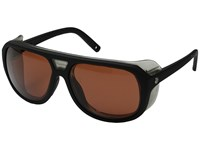 Electric Eyewear Stacker Matte Black Ohm Rose Sport Sunglasses Brown