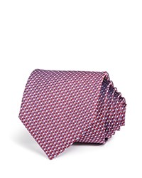 Bloomingdale's The Men's Store At Diamond Link Neat Classic Tie Red