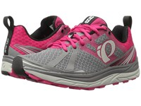 Pearl Izumi Em Trail M 2 V3 Smoked Bright Rose Women's Running Shoes Gray