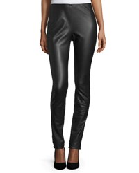 M Missoni Faux Leather Leggings Black