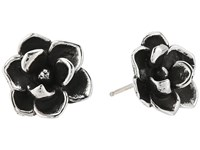 King Baby Studio Magnolia Stud Earrings Silver Earring