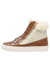 Gant Olivia Hightop Trainers Tan Brown