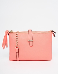Lipsy Coral Double Gusset Cross Body