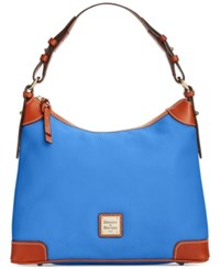 Dooney And Bourke Pebble Hobo French Blue