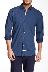 English Laundry Long Sleeve Woven Shirt Blue