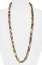 Women's L. Erickson 'Sophie' Link Necklace Natural Horn