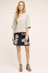 Anthropologie Austinian Tweed Mini Skirt Assorted