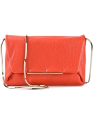 Lanvin 'Envelope' Clutch Yellow And Orange