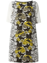 I'm Isola Marras Floral Shift Dress Nude And Neutrals