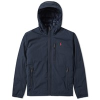 Polo Ralph Lauren Lightweight Hooded Down Jacket Blue