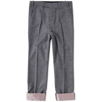 Thom Browne Boucle Wool Trouser Grey