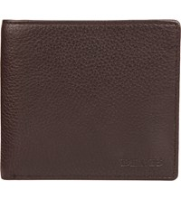 Dents Rfid Protection Leather Wallet Chocolate