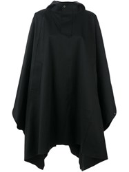 Mackintosh Hooded Cape Black