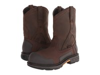 Ariat Overdrive Xtr Pullon H20 Brown Cordura Oily Distressed Brown Men's Work Boots