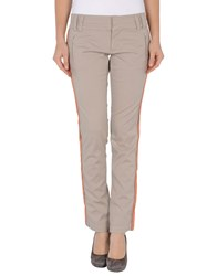 Pf Paola Frani Trousers Casual Trousers Women Light Grey