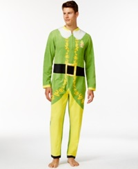 Briefly Stated Elf One Piece Pajama Suit