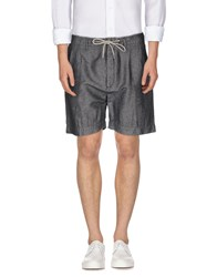 Pence Trousers Bermuda Shorts Men Lead