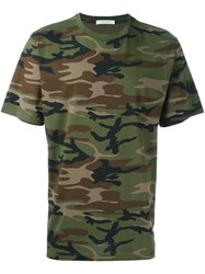 Alyx Camouflage T Shirt Green