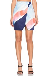 Finders Keepers Sweet Talker Skirt Blue