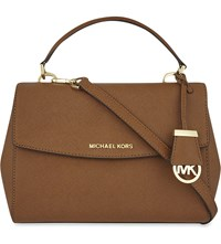 Michael Michael Kors Ava Small Saffiano Leather Satchel Luggage